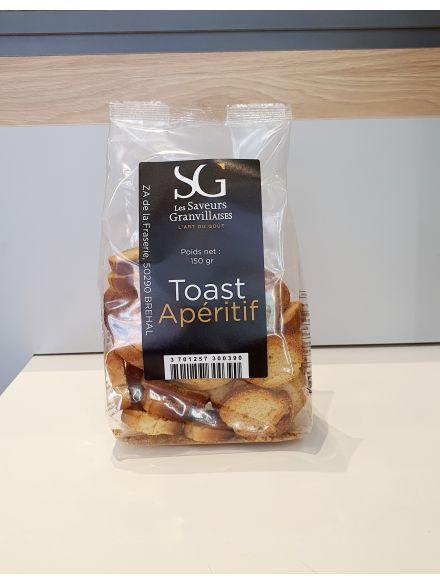 Toast Apéritif 150Gr