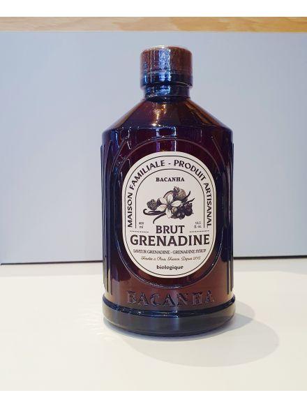 SIROP GRENADINE BRUT - BIOLOGIQUE - 400ML