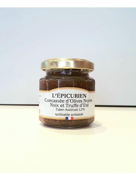 Concassé d'olive noires noix et truffes D'été 1.2%