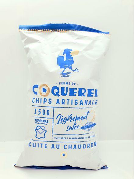 La chips francaise finement salée
