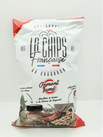 chips à la française au piment fumé