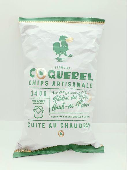 chips artisanaleaux herbes  des Hauts de France s