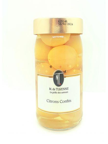 Petits citrons confits  M. de TURENNE