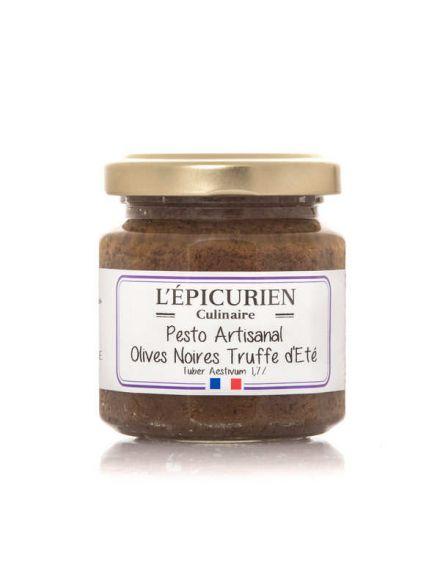 Concassé d'olive noires, noix et truffes D'été 1.2%, 100gr