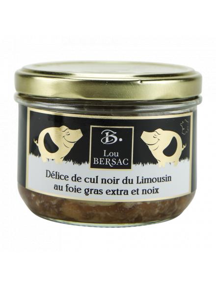 Paté De Cul Noir Du Limousin Aux Cèpes, 180Gr-Lou Bersac-