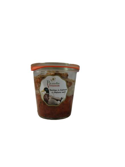 Terrine de Colvert au poivre vert - 200 gr