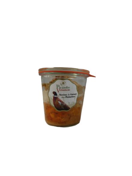 Terrine de faisan aux pistaches - 200 gr