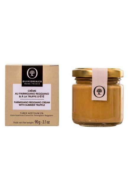 Crème au parmigiano reggiano & à la truffe d'été, aromatisée 90G