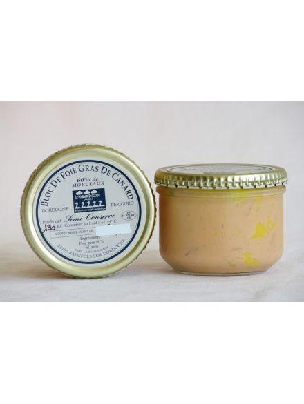 Bloc De Foie Gras De Canard (60% De Morceaux)65Gr