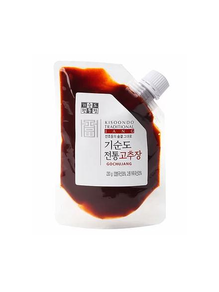 Pâte de piment rouge  premium (Gochujang) aux fraises de Kisoondo