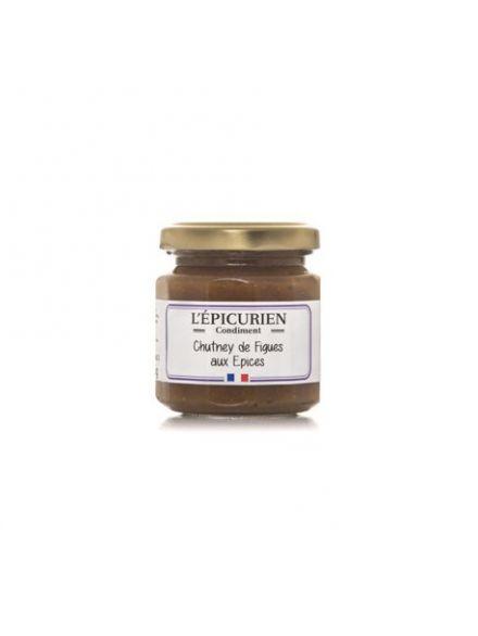 Chutney de figue aux épices, 125gr  -L'épicurien-