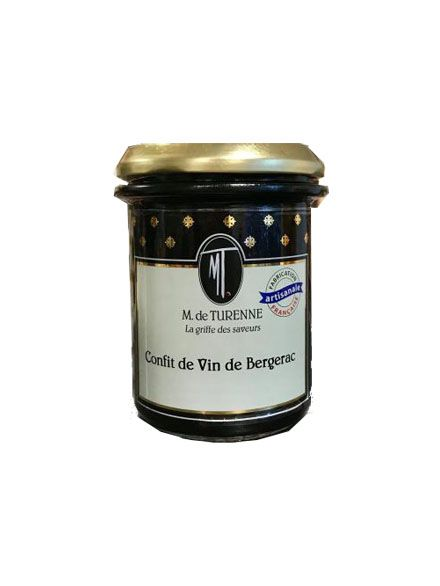 Confit  De Vin De Bergerac - 220 gr -M. De Turenne-