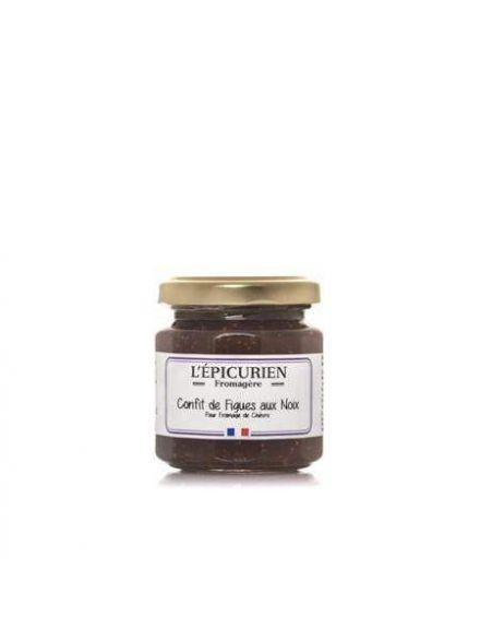 Confit de figues aux noix, 125gr -L'épicurien-