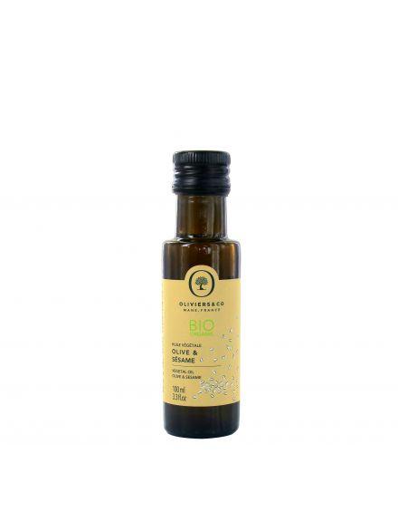 Huile vegetale bio olive sesame 100 ml
