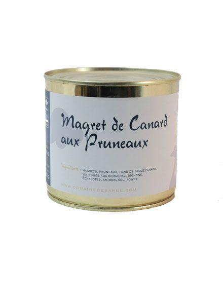 Magret De Canard Aux Pruneaux - 600Gr