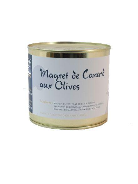 Magret De Canard Aux Olives - 600Gr
