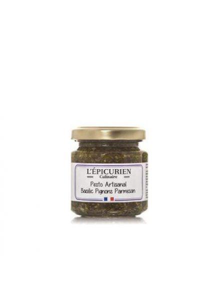 Pesto artisanal basilic pignons parmesan, 100gr -L'épicurien-