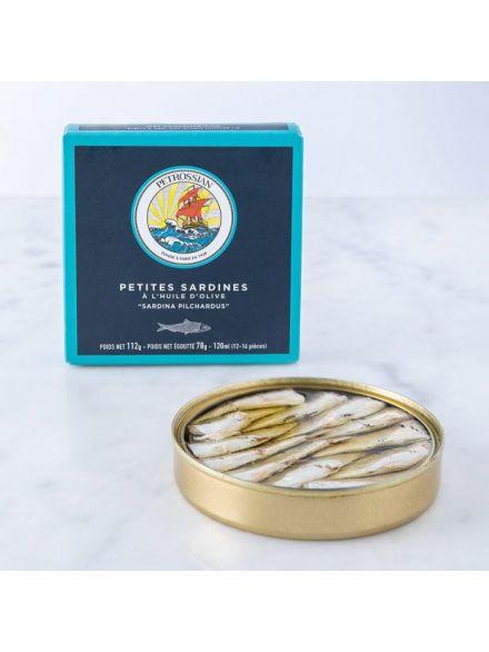 Petites Sardines à l'Huile d'Olive