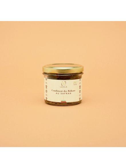 Condiment des balkans au safran 160gr lavila