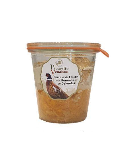 Terrine de faisan aux pommes et au Calvados - 200 gr